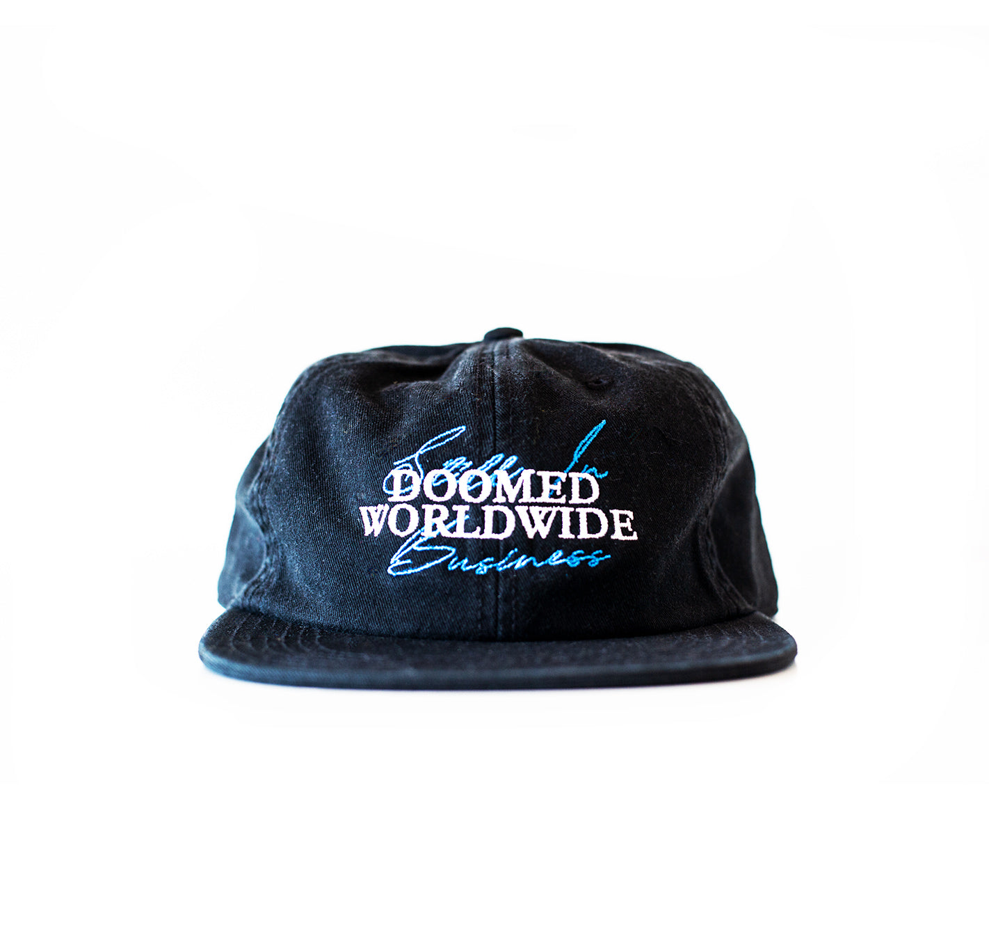Doomed Still In Business 6 Panel Black