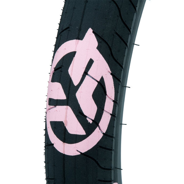 Federal Command LP Tyre - Black With Pink Logos 2.40""