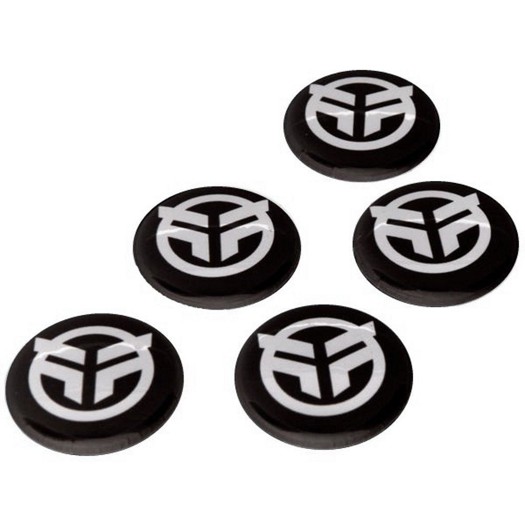 Federal Logo Pin Badge (Pack Of 5) - Black