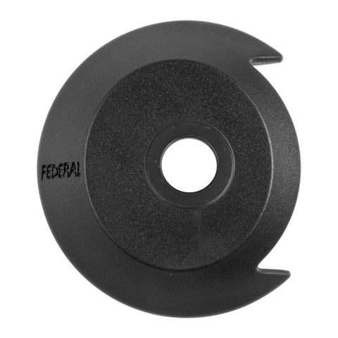 Federal Drive Side Plastic Hubguard With Universal Washer - Black 14mm