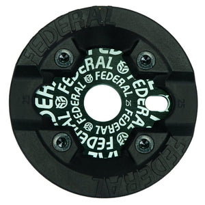 Federal Logo Solid Sprocket With Impact Guard - Black