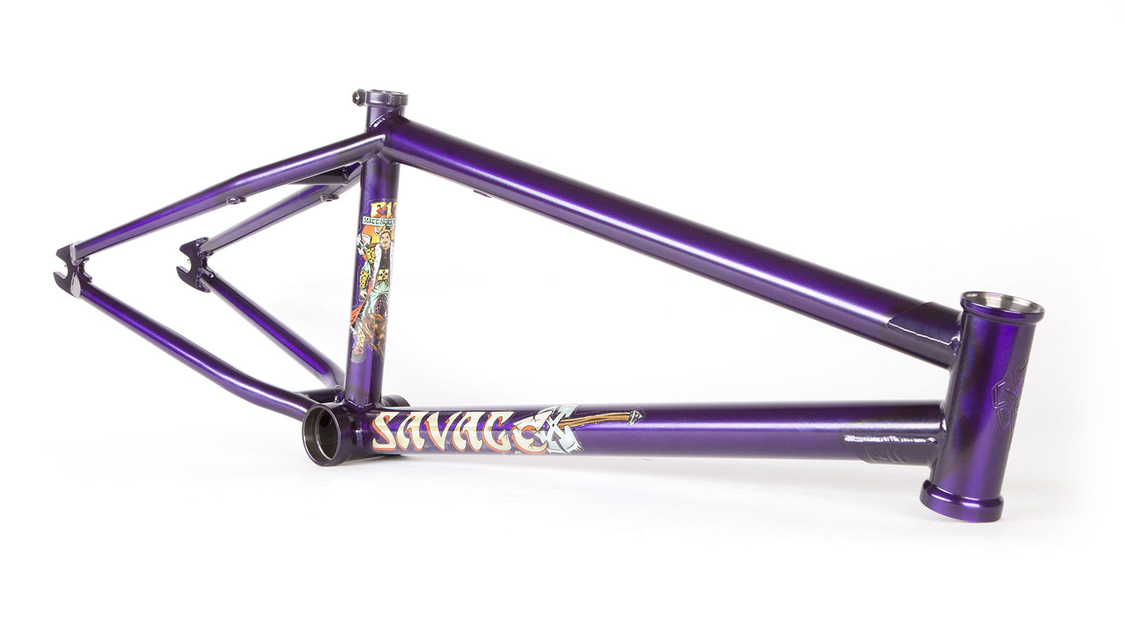 "FIT Savage Matt Nordstrom Edition Frame 21"" Trans Purple"