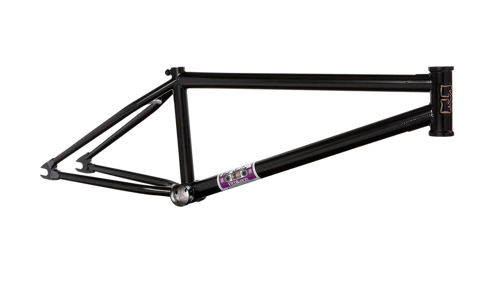 "FIT Mixtape Frame (S - 12.625"" R.E) 20.75"" Matte Black Brad"