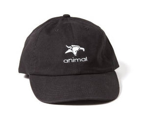 Animal Icon Dad Hat Black