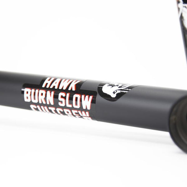 Cult Hawk Burn Slow Frame - Flat Black