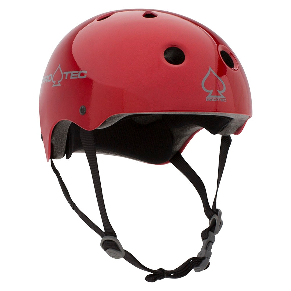Pro-Tec Classic Certified Helmet Red Metal Flake