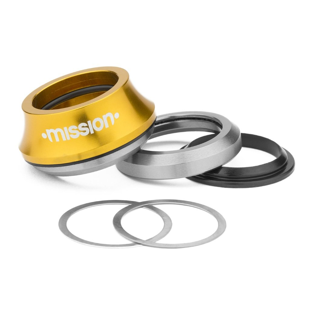 Mission Turret Headset - Gold