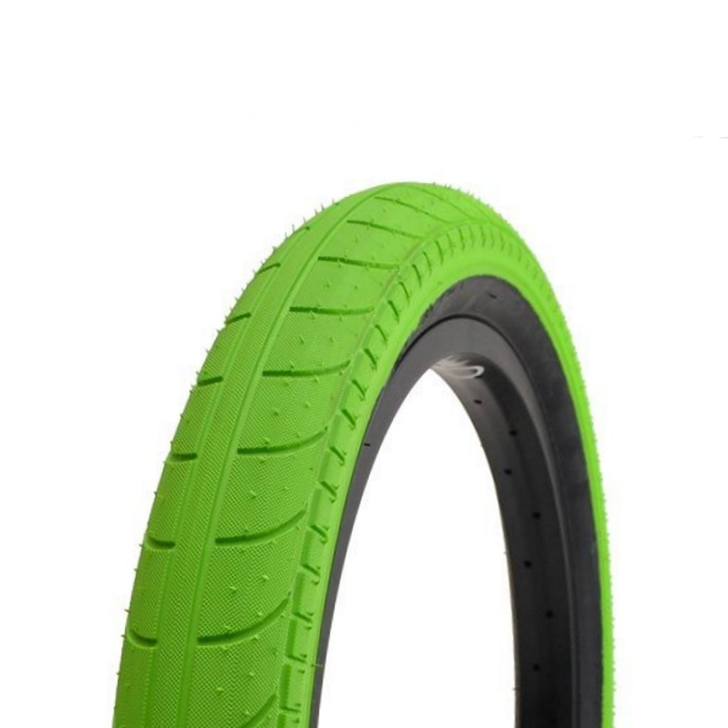 Stranger Ballast Tyre - Bright Green With Black Sidewall 2.45""