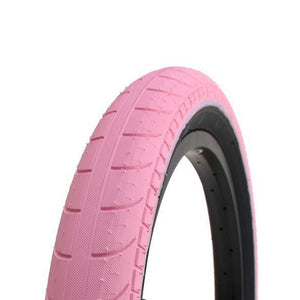 Stranger Ballast Tyre - Bright Pink With Black Sidewall 2.45""