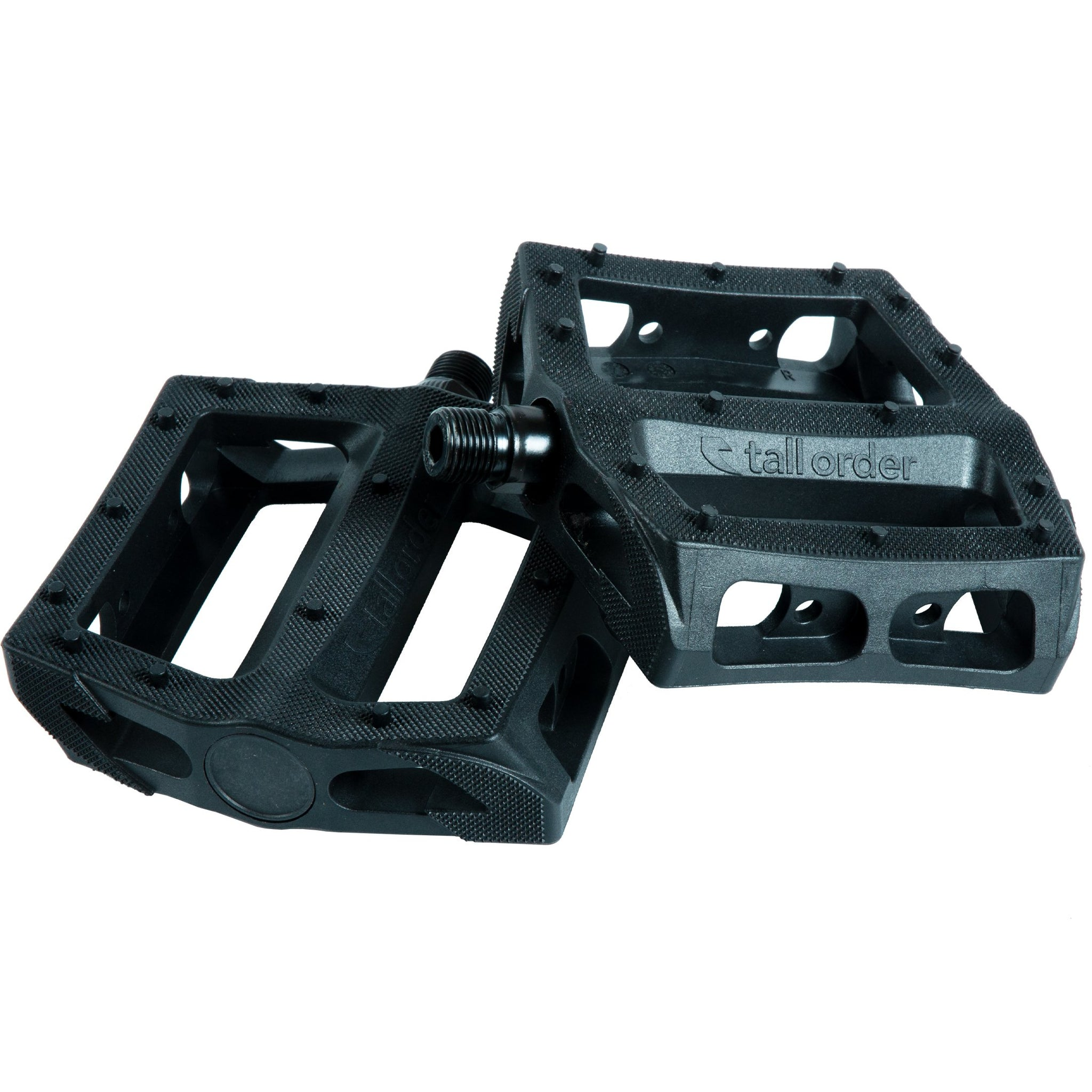 Tall Order Catch Pedal - Black 9/16""