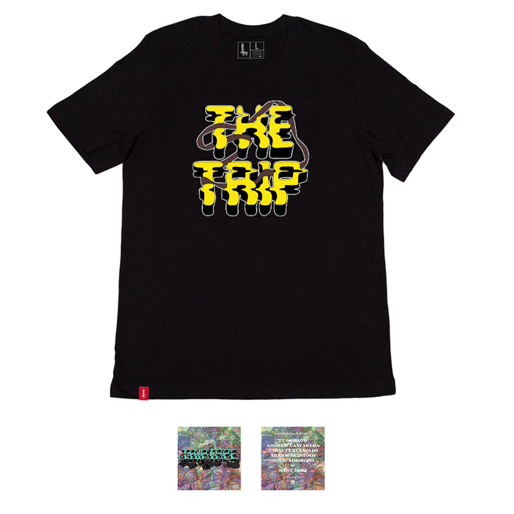 The Trip Triptape DVD / T-Shirt - Black | BMX