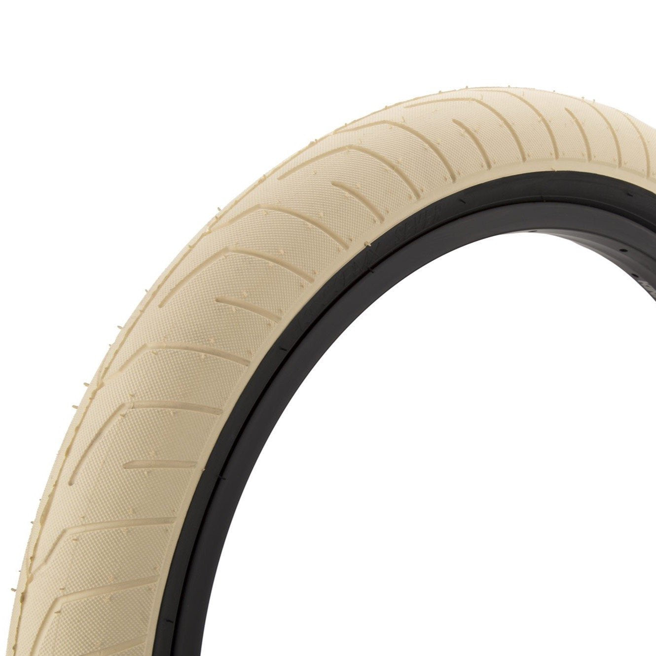 Kink Sever Tyre -Creme With Black Sidewall 2.40""