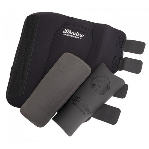 Shadow Shinners Shin Pads - Black