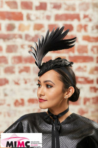 "Melbourne International Millinery Competition 2021 Entry ""Black Swan"""
