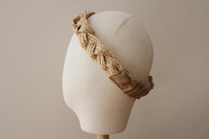 Raffia Braided Headband