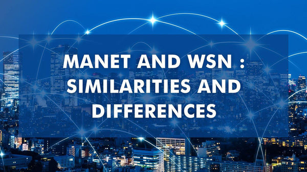 MANET and WSN : Similarities and Differences - BPB Online