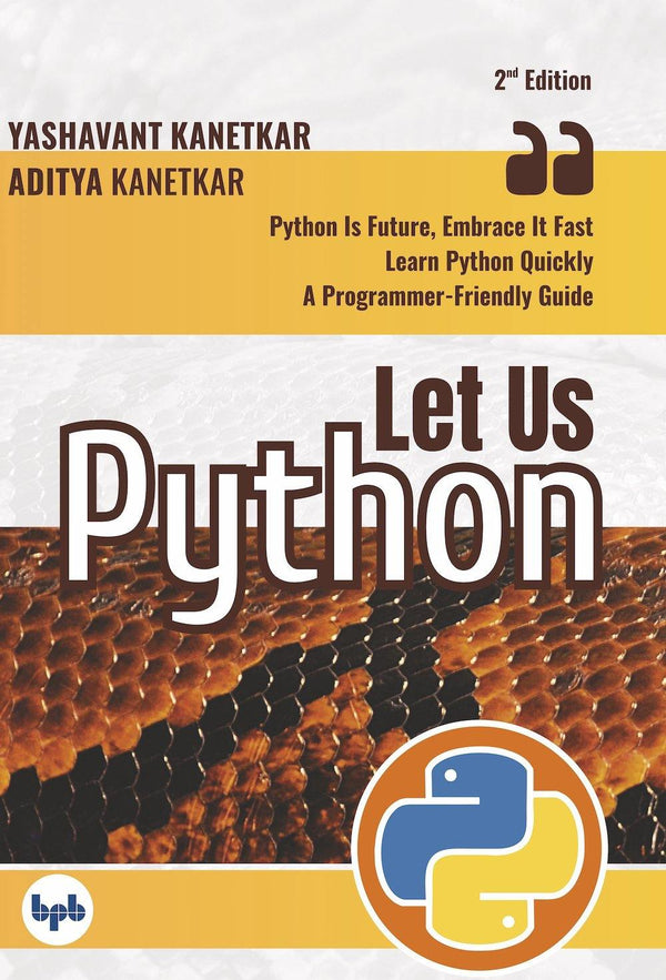Let Us Python- 2nd Revised & Updated Edition - BPB Online