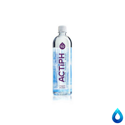 ACTIPH Alkaline Ionised Water Plastic Bottle 12x1L