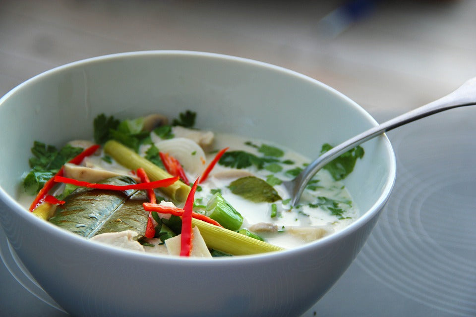 Make Your Own: Immune Boosting Thai Coconut Soup