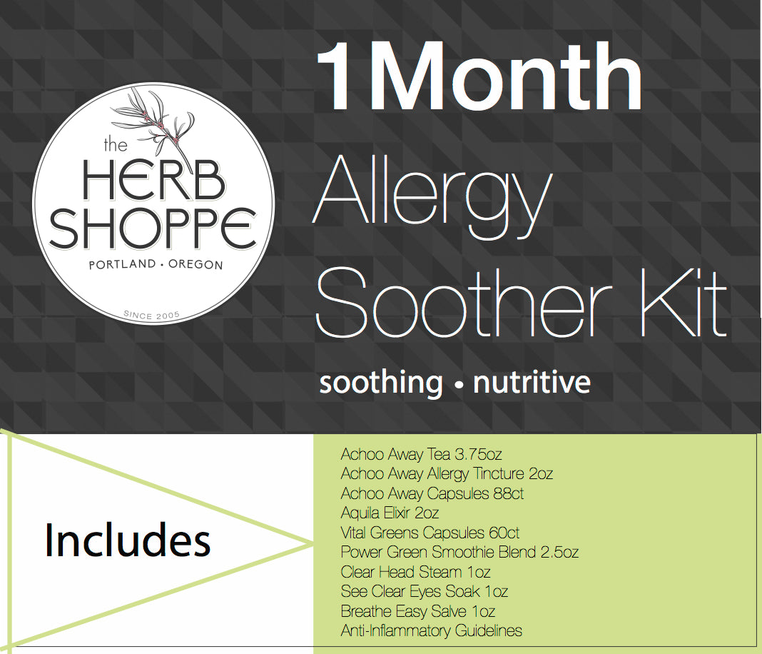 Allergy Soother Kit-1 Month