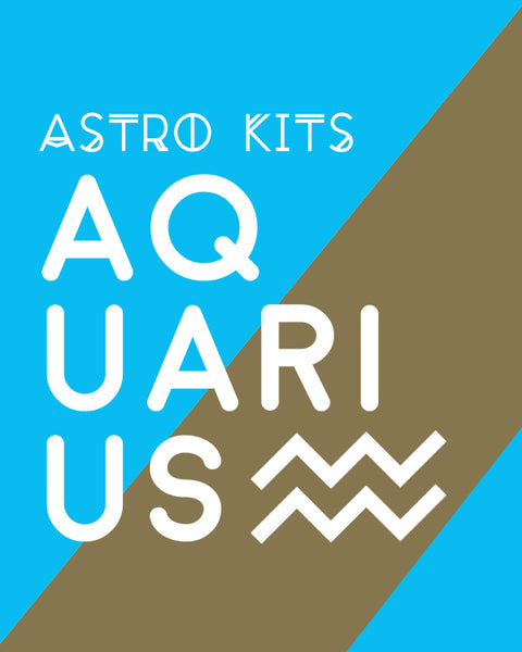 Aquarius Astrology Kit