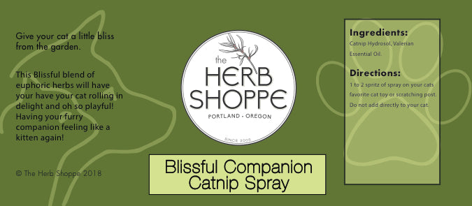 Blissful Companion-Catnip Spray