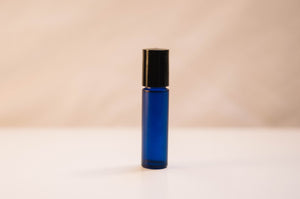 Blue .35oz Roll-On Black Cap