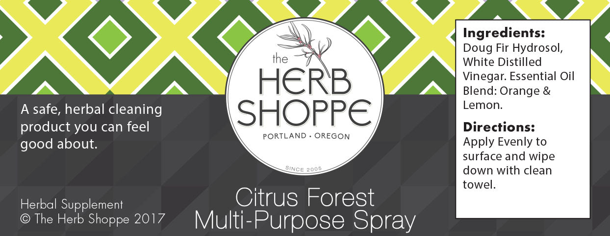 Greener Cleaner Multi-Purpose Spray- Citrus Forest 8oz
