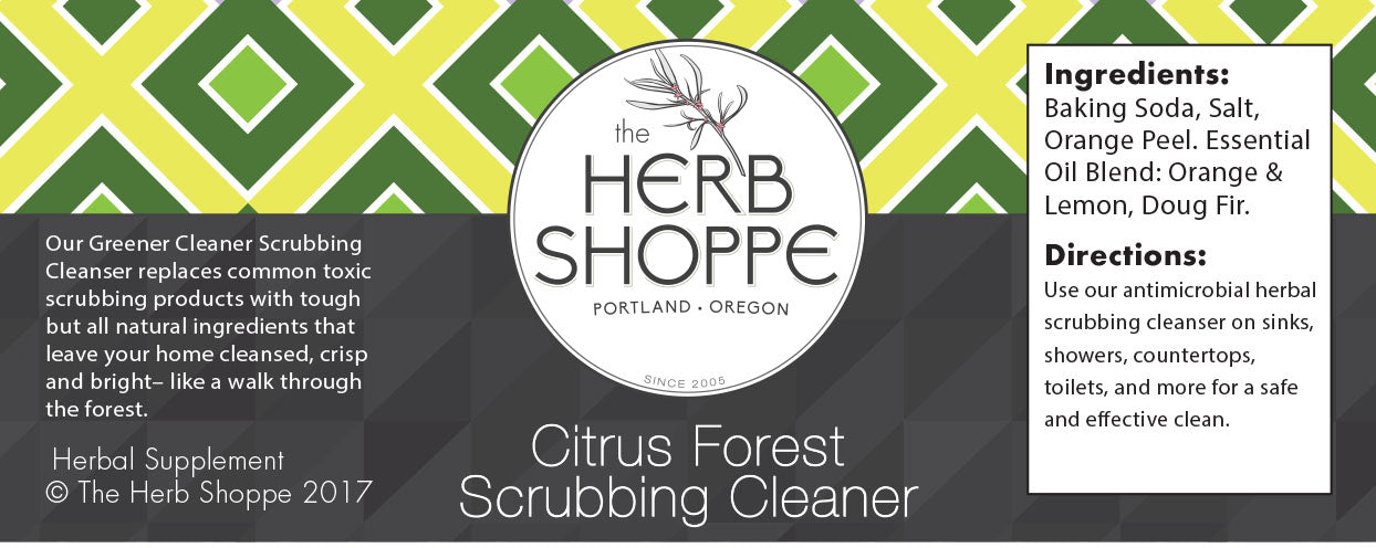 Greener Cleaner Scrubbing Cleanser- Citrus Forest