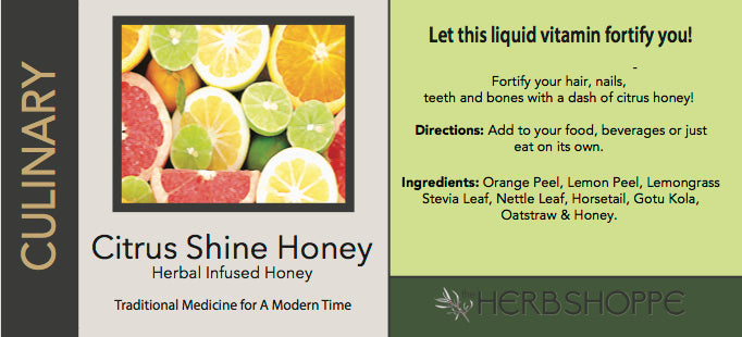 Citrus Shine Honey 9oz