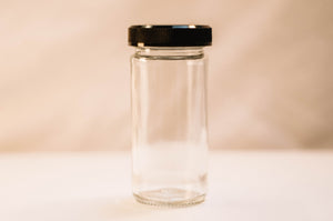 Clear 4oz Spice Jar