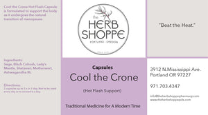 Cool the Crone Hot Flash Capsule Single