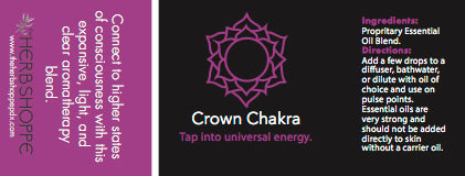 THS Crown Chakra Essential Oil Blend-5ml