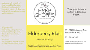 Elderberry Blast Syrup