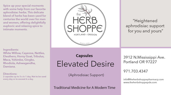 Elevated Desire Capsules Single
