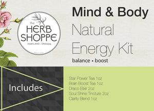 Natural Energy Kit-Mind & Body