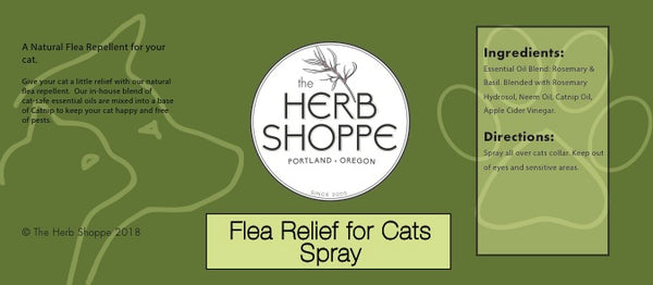 Flea Relief for Cats Spray