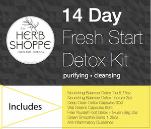 14 Day Fresh Start Detox Kit