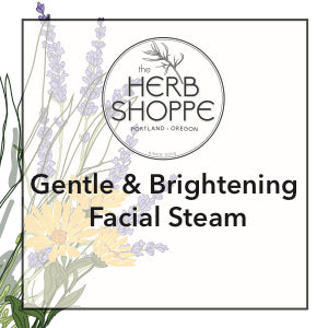 Gentle & Brightening Facial Steam-Dry Skin