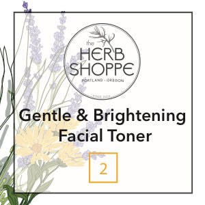 Gentle and Brightening Facial Toner-Oily Skin