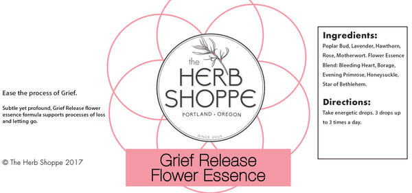 THS Grief Release Flower Essence 1oz