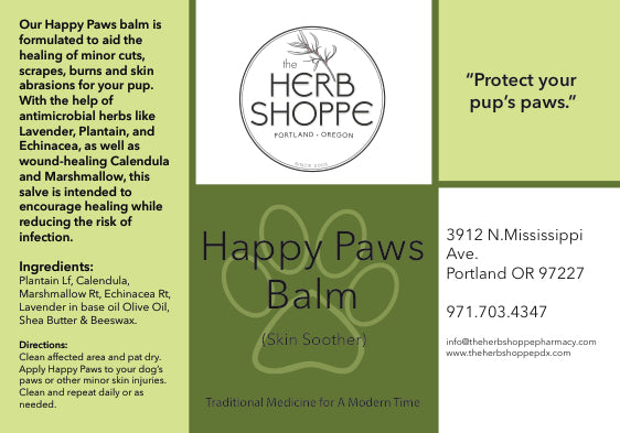 Happy Paws-Pet Paws Balm