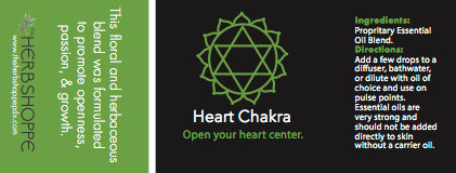 THS Heart Chakra Essential Oil Blend-5ml