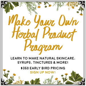 Make Your Own: Herbal Product Series