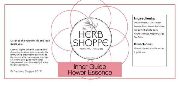 THS Inner Guide Flower Essence 1oz