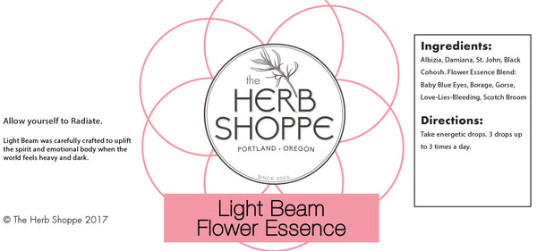 THS Light Beam Flower Essence 1oz