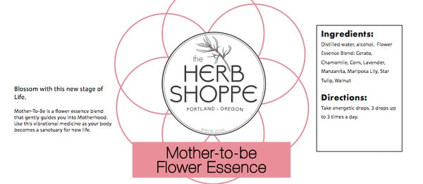 Mother-To-Be Flower Essence 1oz