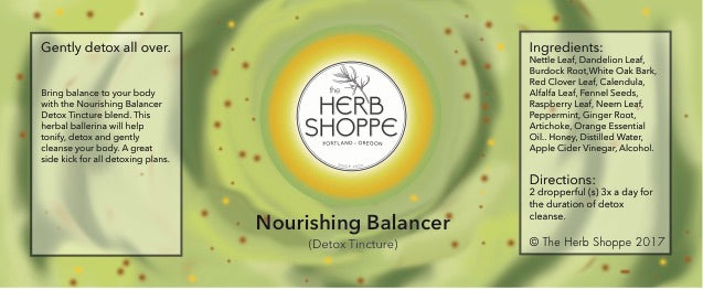 Nourishing Balancer Tincture