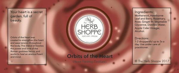 Orbits of the Heart Tincture