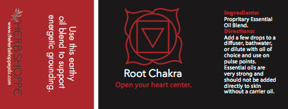 THS Root Chakra Essential Oil Blend-5ml